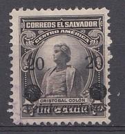 El Salvador 1924  Mi.nr: 418  Mit Aufdruck  Oblitérés - Used - Gebruikt - Salvador