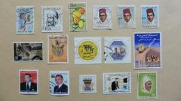 Afrique > Maroc :16 Timbres Oblitérés - Maroc (1956-...)