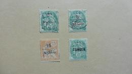 Afrique > Maroc :4 Timbres Oblitérés - Maroc (1956-...)