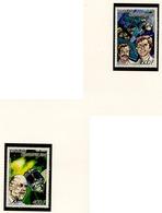 Centrafrique - Zentralafrikanische Poste Aérienne 1987 Y&T N°PA360A à 360B - Michel N°1273 à 1274 *** - Conquête Spatial - Centrafricaine (République)
