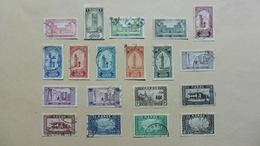 Afrique > Maroc :19 Timbres Oblitérés - Maroc (1956-...)