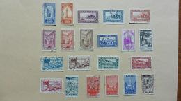 Afrique > Maroc :21 Timbres Oblitérés - Maroc (1956-...)