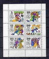 Germania - DDR - 1969 - Blocco Foglietto - Fiabe Dei Fratelli Grimm - Nuovo - (FDC20055) - [6] Oost-Duitsland