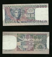 Banconota L. 50000 Volto Di Donna 20 6 1977 Spl - [ 2] 1946-… : Repubblica