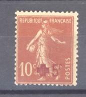 0ob  0542  -  France  :  Yv  146b  *    Papier Jaune - Francia