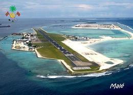 Maldives Malé Airport New Postcard Malediven Flughafen AK - Maldives