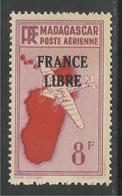 MADAGASCAR 1943 YT PA 47** - Luchtpost
