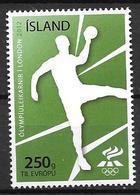 Islande 2012, N°1287 Neuf Jeux Olympiques De Londres, Handball - Neufs