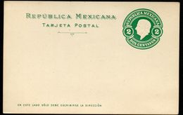Mexico Postal Card MEPSI #PC119 Mint Vf 1910 - Mexico