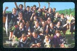 New Zealand - 1998 Womens Rugby $5 Team Photo - NZ-P-134 - VFU - Neuseeland