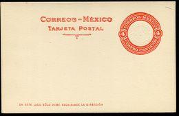 Mexico Postal Card MEPSI #PC127 II Mint 1923 - Mexico