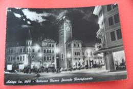 Vicenza Asiago Piazza Secondo Risorgimento Di Notte 1959 - Vicenza