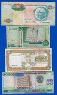 Portugal  Colonie  4  Billets - Portugal