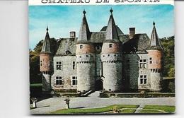 SPONTIN (5530) Dépliant Souvenir Chateau SPONTIN Avec 8 Vues Intérieur - Autres Collections