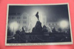 Vicenza Asiago La Fontana Di Notte 1940 Ed. Bonomo - Vicenza
