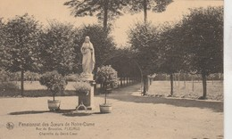 Fleurus , Pensionnat Des Soeurs De Notre Dame , Rue De Bruxelles ,Charmille Du Sacré Coeur - Fleurus