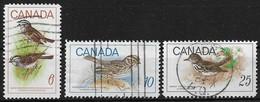 Canada 1969. Scott #496-8 (U) Bird's ** Complete Set - 1952-.... Reign Of Elizabeth II