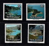 New Zealand 1979 Small Harbours Set Of 4 MNH - - Ongebruikt
