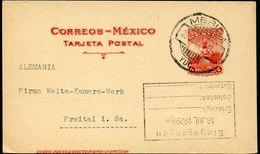 Mexico Postal Card MEPSI #PC129 Used Merida Yuc. To Germany 1929 - Messico