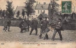 CPA DOUANE FRANCAISE - Attaque De Contrebandiers - Dogana