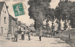 Rare Cpa L'etoile Avenue Du Château Animée - Sonstige Gemeinden