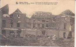 Ypres (1914-1918) - Pensionnat De Rousbrugge (Vue De Face) - Ieper