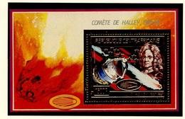 Centrafrique - Zentralafrikanische Bloc Feuillet 1986 Y&T N°BFPA359 - Michel N°B399 *** - 1500f Comète De Halley - Centrafricaine (République)