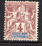 GDP - 29* - TYPE GROUPE - Guadeloupe (1884-1947)