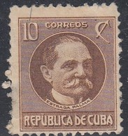 Cuba, Scott #270, Mint Hinged, Tomas Estrada Palma, Issued 1917 - Unused Stamps