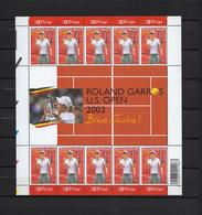 N°F3225 Tennis Justine Henin Hardenne 2003 MNH ** POSTFRIS ZONDER SCHARNIER NOMINAAL € 4,90 SUPERBE - Feuillets