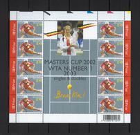 N°F3226 Tennis Kim Clijsters 2003 MNH ** POSTFRIS ZONDER SCHARNIER NOMINAAL € 4,90 SUPERBE - Feuillets