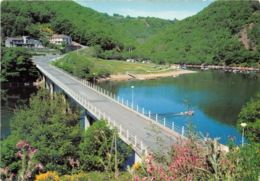 Plan D Eau Des FADES BESSERVE Pont Du Bouchet Base Nautique 19(scan Recto-verso) MA1362 - France
