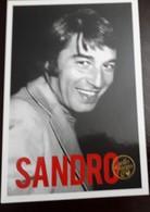 O) ARGENTINA, POSTAL CARD SANDRO SELLO DE FUEGO,CANTAUTOR MUSIC -MELODIC MUSIC -ROCK AND ROLL, XF - Argentina