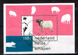 PAYS-BAS /Oblitérés/Used/ 1997 - Nature Et Environnement / Moutons De Drenthe - Blocks & Sheetlets