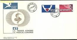 Republic Of South Africa 1969 Mi 382-383 FDC ( FDC ZS6 SAF382-383 ) - Medicine