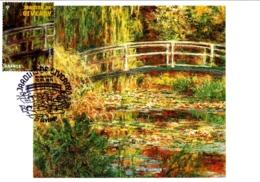 Carte Maximum YT 4479, Les Jardins De Giverny, Bassin Aux Nympheas De Monet, 1er Jour 12 06 2010 Giverny 27 TBE - Maximum Cards