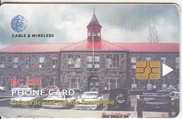 ST.VINCENT & GRENADINES(chip) - SVG Police Headquarters, Chip GEM3.3, Used - San Vicente Y Las Granadinas