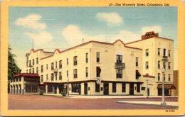 Georgia Columbus The Waverly Hotel 1957 Curteich - Columbus