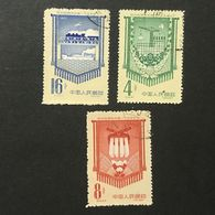 ◆◆◆ CHINA 1958   Fulfillment  Of  First  Five-Year  Plan.    Series  Complete  USED  AA7189 - Gebruikt