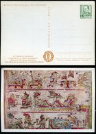 MODERN MEXICAN ART: Pre Spanish Art Mexican Pictograph. An Old Manuscript. Mexico MEPSI #PC148 B2 Unused 1957 - Unclassified