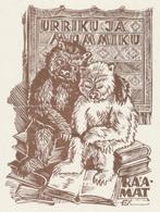 Ex Libris  - Enn Kera (1922-1991) - Ex-libris