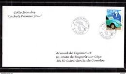 """SOUS LA FACIALE Lot De 115 Enveloppes 1er Jour Différentes De La Collection """" Cachets 1er Jour """". - Collections (without Album)"""