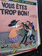 SPI2020 Issu De Revue SPIROU Années 70/80 : JACKY ET CELESTIN  Par WALTHERY 4 Pages - Livres, BD, Revues