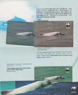 Hong Kong - 1995 WWF - $50 Chinese White Dolphin - Mint In Folder - Hong Kong
