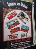 SPI2020  Issu De Revue Spirou Années 80 / 1 PAGE DE PUBLICITE CARAN D'ACHE CRAYONS DE COULEUR PEINTURES Et Joints D'Ache - Publicités