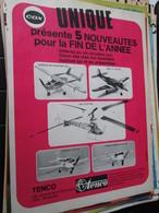 SPI2020  Issu De Revue Spirou Années 80 / 1 PAGE DE PUBLICITE AEROMODELISME AVIONS TELECOMMANDES COX - Publicités