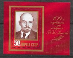 Russie   Blocs  N° 137    Lénine   Neuf  * * TB= MNH VF Soldé Le  Moins Cher Du Site ! ! ! - 1923-1991 URSS