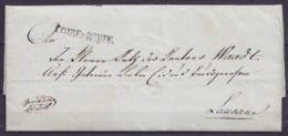 """Suisse - L. Datée 7 Mai 1810 De COIRE Pour LAUSANNE - Griffe """"COIRE & ROUTE"""" - Suisse"""