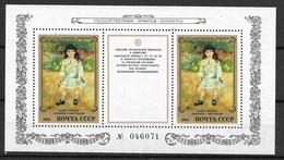 Russie   Blocs  N° 176   Renoir Musée De L'Hermitage      Neuf * * TB = MNH VF Soldé Le  Moins Cher Du Site ! ! ! - 1923-1991 URSS