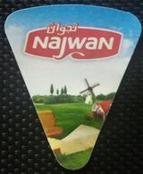 Egypt - Rare Najwan Cheese Label(Egypte) (Egitto) (Ägypten) (Egipto) (Egypten) Africa - Kaas